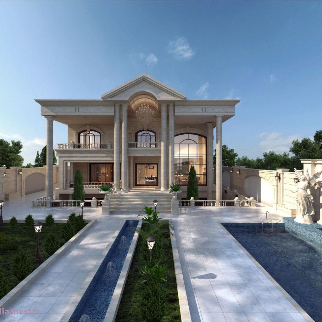توضیحات کامل درمورد سبک معماری نئوکلاسیک
