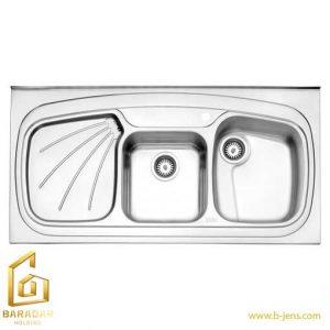 قیمت سینک روکار 614 استیل البرز