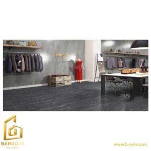 قیمت سرامیک آلپینو ذغالی مدل کارشده 60x120 نایین اصفهان