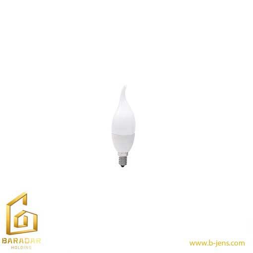 قیمت لامپ الایدی شمعی اشکی مات 7 وات