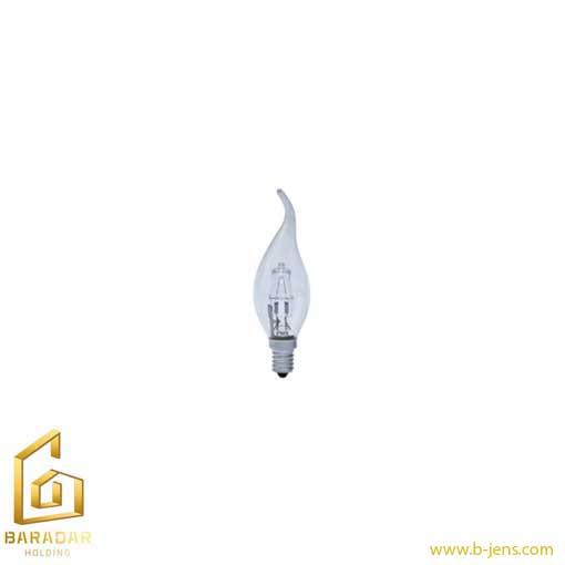 قیمت لامپ هالوژن شمعی شفاف 42 وات