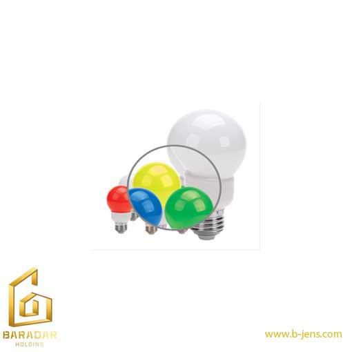 قیمت لامپ LED حبابی رنگی 1وات