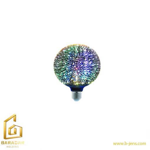 قیمت لامپ LED سه بعدی 6وات