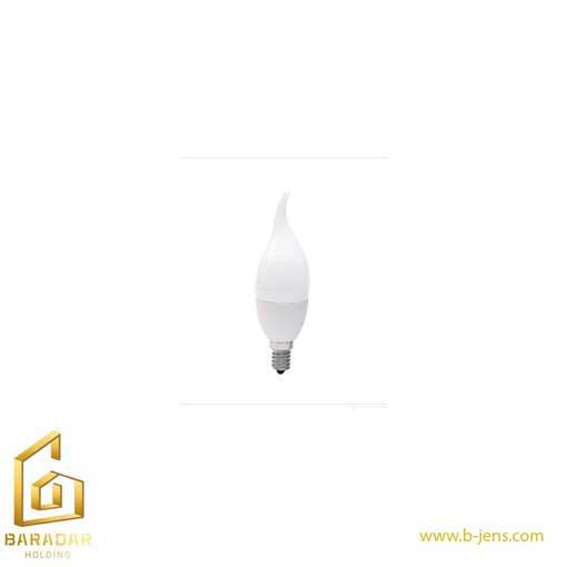 قیمت لامپ LED شمعی اشکی مات دیمردار سه حالته 6وات