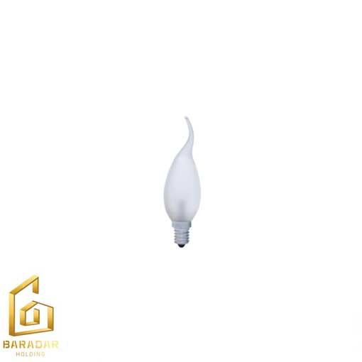 قیمت لامپ هالوژن شمعی اشکی مات 28 وات