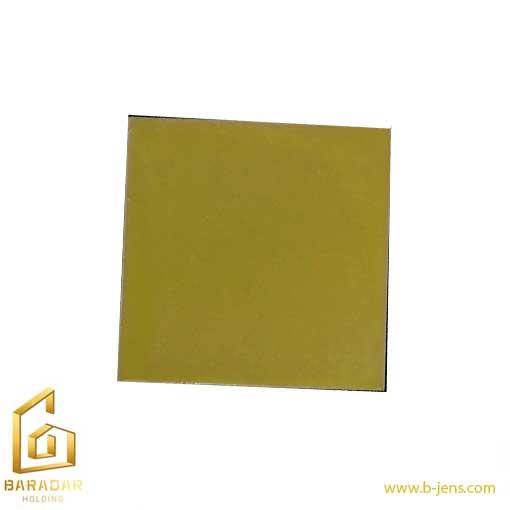 قیمت آجر سنتی لعابدار کف فرش زرد – کاشی لعابدار