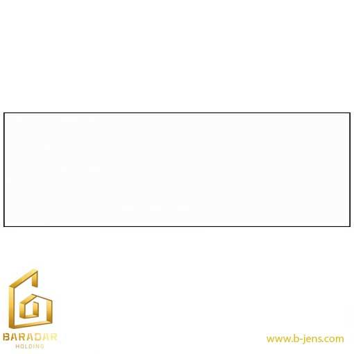 قیمت سرامیک سفید ساده براق 30×90 نایین اصفهان