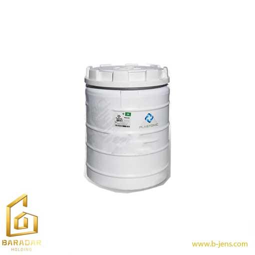 قیمت مخزن آب عمودی پلی اتیلنی 100 لیتری تک لایه پلاستونیک