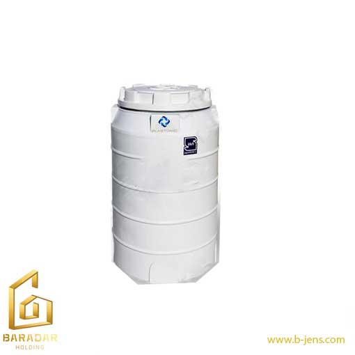 قیمت مخزن آب 220 لیتری عمودی تک لایه ( بی رنگ ) پلاستونیک