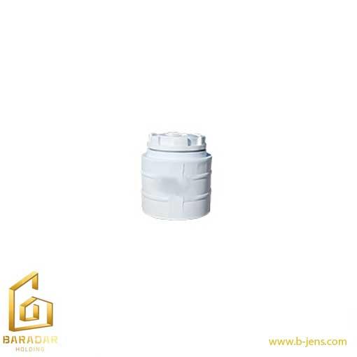قیمت مخزن آب 80 لیتری عمودی تک لایه بی رنگ پلی اتیلنی پلاستونیک