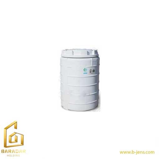 قیمت مخزن آب 150 لیتری پلی اتیلن عمودی تک لایه پلاستونیک