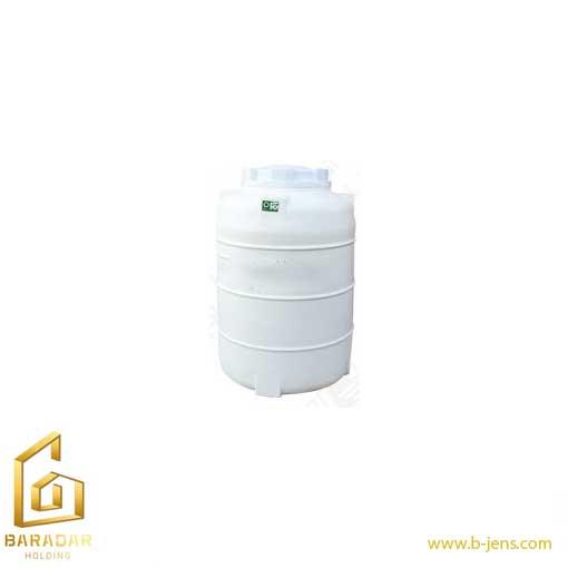 قیمت مخزن آب 220 لیتری پلاستیکی عمودی سه لایه KU