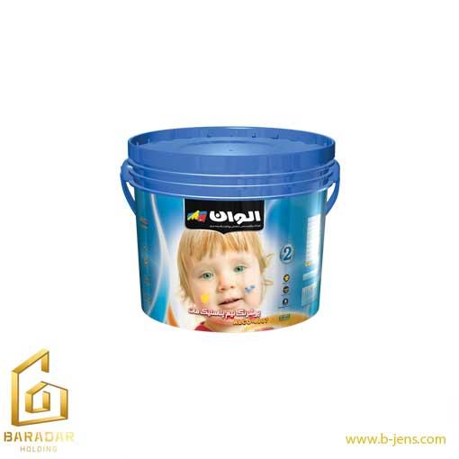 پوش رنگ نیم پلاستیک مات الوان (2)