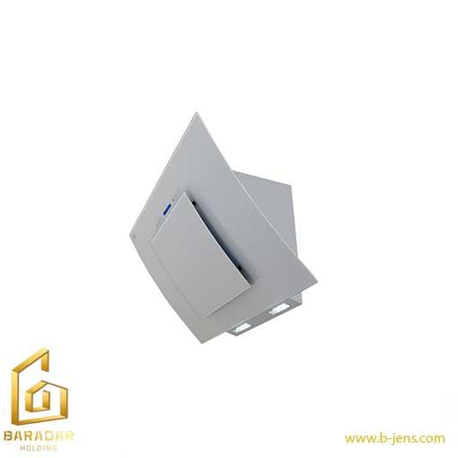 قیمت هود شیشه سفید کد H53-T اخوان