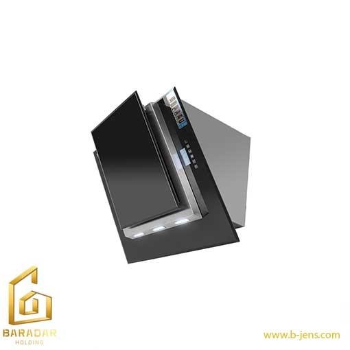 قیمت هود شیشه و استیل کد H58-T اخوان