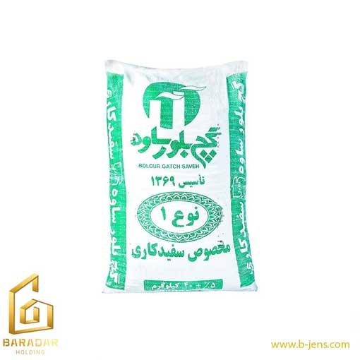 قیمت گچ بلور ساوه 40 کیلوگرمی