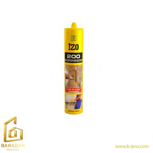 قیمت درزگیر سیلیکونی آنتی باکتریال ایزو 200