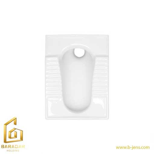 قیمت توالت ایرانی گلسار مدل نیلوفر18