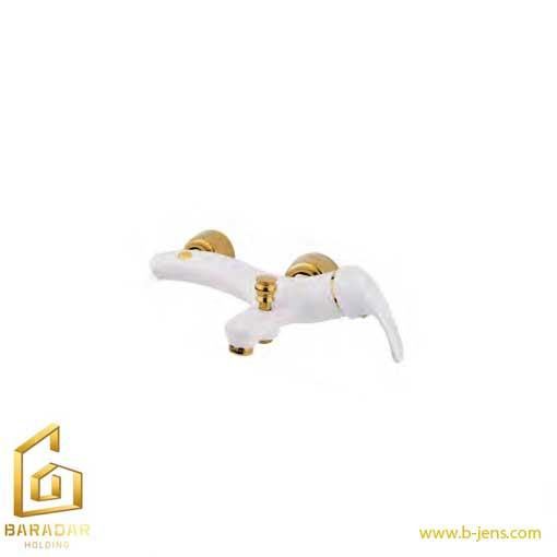 قیمت شیر دوش ارمغان مدل الماس سفید طلایی