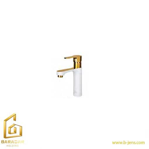 قیمت شیر روشویی ارمغان مدل ناتولی سفید طلایی